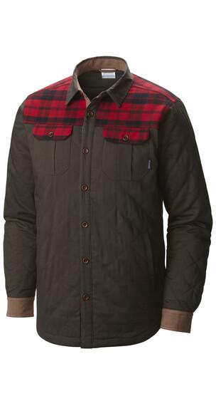 Columbia Kline Falls Shirt Jacket Men Buffalo